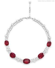 Bulgari Charity Auction at Christie's -  169 sapphires, plus 951 briliant cut diamonds