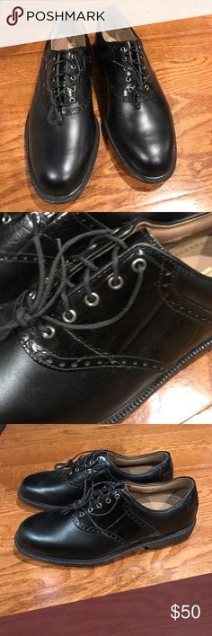 Men's Golf shoes Black men's golf shoe - FJ Professional FJ Professional Shoes Athletic Shoes
