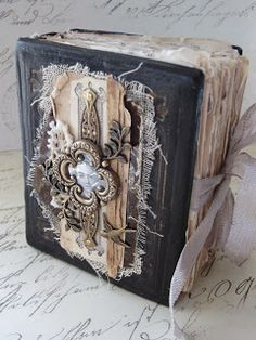Upcycled Book Covers by Saimba