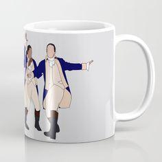 Lafayette, Mulligan, Laurens & Hamilton Mug Laurens Hamilton, Aaron Burr, Sublimation Mugs, Hamilton Musical, Magpie, Christmas Ideas, Musicals, Tea, Life