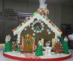 """""""A gingerbread house for Rolo the mouse"""" by Christi W. (Most Creative)"""