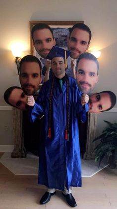 Graduation fun with big heads! Easy to order, ships next day.