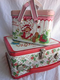 Nastalgia- Strawberry Shortcake Tin Boxes. Have the lunch box.