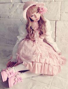 ♥ ロリータ, sweet lolita, fairy kei, decora, lolita, loli, gothic lolita, pastel goth, kawaii, fashion, victorian, rococo, wa-lolita♥   Pinterest