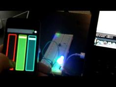 Arduino Color Mixer controlled by iPhone