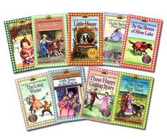 Little House on the Prairie Books  (Laura Ingels Wilder)