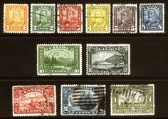 Canada #149-#159 1c - $1 1928-29 Used Set *Bluenose* 11 items  - Browse 1500 Rare Stamps on Sale LittleArtTreasures.com or http://stores.ebay.com/Little-Art-Treasures