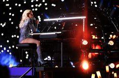 Lady Gaga:   Lady Gaga performs during the Pepsi Zero Sugar Super Bowl 51 Halftime Show at NRG Stadium on Feb. 5, 2017 in Houston.