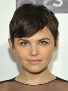 Ginnifer Goddwin short pixie cut-Excited to get to this length! :)