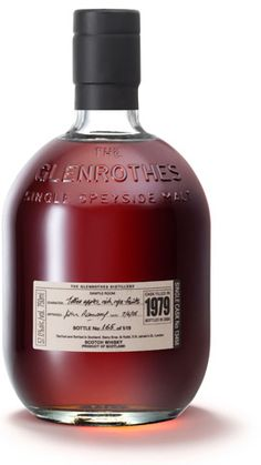 The Glenrothes 1979 Single cask Nº 13458