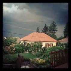 Eső előtt