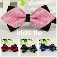 2016 горячие коммерческие дети галстук-бабочка сплошной цвет галстуки-бабочки для детей мальчика аксессуары бабочки галстук боути бабочки