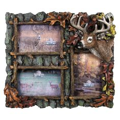 3 Deer Picture Frame