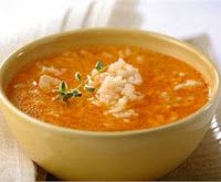 Sopa de Pollo con Arroz - Brasilian Typical Recipe