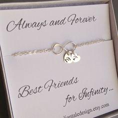 Best Friend Gift Friendship Bracelet by anatoliantaledesign, $34.00