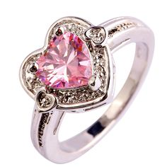 Empsoul 925 Sterling Silver Women's Engagement Ring Plated 7*7mm Pink Topaz  https://www.amazon.com/Empsoul-Sterling-Silver-Womens-Engagement/dp/B01GZPGF3E?ie=UTF8&*Version*=1&*entries*=0