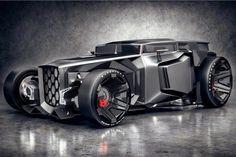 Lambo Rod Le #Concept de #Lamborghini Hot Rod http://fr.belzino.com/65538 par #JansSlapins #voiture #design #ratrod