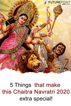 Read 5 special things about Chaitra Navratri Find out what changes you can expect with Navratri Date 2019 and Hindu New Year starting on the same day. Hindu New Year, Chaitra Navratri, Durga Goddess, Everything Is Possible, Wonder Woman, Superhero, How To Make, Fictional Characters, Wonder Women