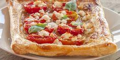 Tartelettes feuilletées aux tomates cerises et au chèvre | Mes recettes faciles