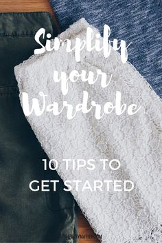 My satisfaction has increased tremendously since I downsized my closet. These are my 10 tried and trusted tips to get you started on your own journey towards a streamlined closet you love.   aheartymatter.com