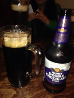 Cerveza doble chocolate