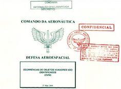 Governo brasileiro libera mais um lote de documentos secretos sobre OVNIs / UFOs
