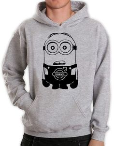 The hoodie is super comfortable, it features a large pocket with two entrances (One for each hand), which is ideal for keeping your hands warm. Large hood which can be set tight or loose, depends on you! 3d T Shirts, Polo T Shirts, Top Gifts, Great Gifts, Hand Warmers, Hoodies, Sweatshirts, Volvo, Minions