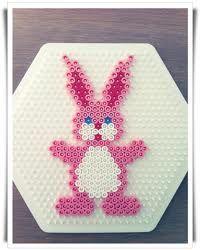 Coniglio Pasqua perline
