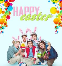 HAPPY EASTER TO ALL MY FOLLOWERS!!! :) I don't celebrate it but yeah!