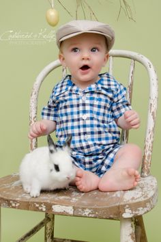 Easter mini sessions with bunnies