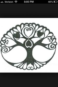 I find this a great simple tattoo that would look nice at a small size