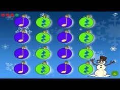 """Sleigh Ride"" Leroy Anderson - YouTube: Rhythms for instruments or clapping"