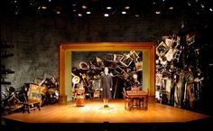 I Am My Own Wife. Scenic design by Lee Savage. Lighting by Matthew Richards.