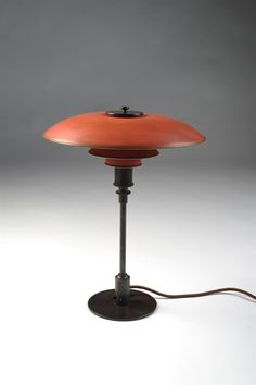 Table lamp, PH 3,5/2. Designed by Poul Henningsen for Louis Poulsen, Denmark. 1926.