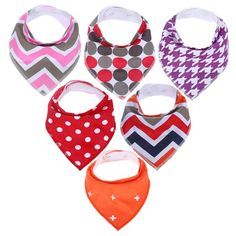 Accessories Smart New Designer For 3 Months To 3 Years Self Feeding Care Bandana Stylish Cotton Blend Baby Bib For Infants Baby Girls