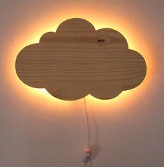 Luminária Nuvem (Cor:Crua)