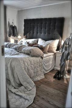 Detalhes de charme nos quartos: cabeceiras de capitonês