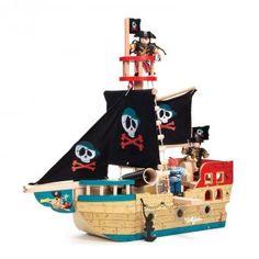 Petit Pont Online Concept Store | Piratenschiff Jolly von Le Toy Van | online kaufen- schnell liefern