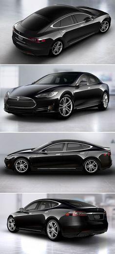 Tesla Model S - what a magnificent machine.