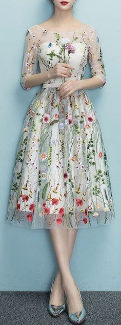 19 Trendy Wedding Dresses Vintage A Line Flower Girls Wedding Dresses Plus Size, Trendy Dresses, Plus Size Dresses, Nice Dresses, Casual Dresses, Fashion Dresses, Dress Wedding, Ivory Wedding, Wedding Shoes