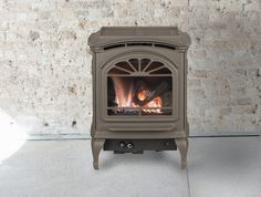 Tiara gas stoves provide efficient heat, gorgeous fires and the perfect spot to gather with family and friends on cold days. Sturdy, cast iron construction safely radiates heat and direct vent technology maintains optimal indoor air quality. Choose a size and style that fits your space