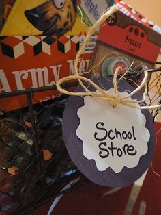 School store incentive and reward ideas for homeschooling or classrooms