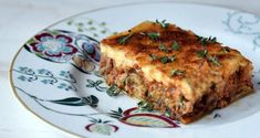 Moussaka by Greek chef Akis Petretzikis! Are you ready to try one of the most amazingly delicious dishes you have ever tasted? Make this fabulous recipe today! Lamb Recipes, Greek Recipes, Cooking Recipes, Eggplant Dishes, Eggplant Recipes, Moussaka Recipe Greek, Confectionery Recipe, Mousaka Recipe, Passionfruit Recipes
