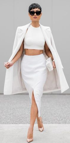 Trendy All White Outfits You Will Fall In Love With  Exclusive Luks