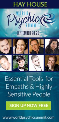 First ever online World Psychic Summit begins this Wednesday, September 20th at Midnight ET. Here are some of the fascinating topics you'll learn about: How to get messages from the spirit world with John Holland. Using tools like oracle cards to make important decisions with Colette Baron-Reid. Explore spiritual pathways like the Qabalah with David Wells and much more. Plus FREE Bonus video w/James VanPraagh.