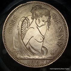 DeviantArt is the world's largest online social community for artists and art enthusiasts, allowing people to connect through the creation and sharing of art. Coins Worth Money, Hobo Nickel, Coin Art, Coin Values, Metal Clay Jewelry, Chicano Art, Challenge Coins, World Coins, Rare Coins