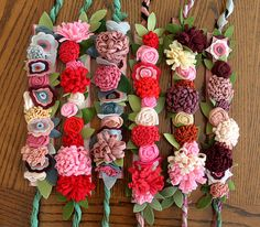 More Flower Crowns! with a link to a ton of pinterest tutorials | by maureencracknell, via Flickr