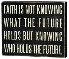 faith is....