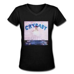 $24 VAVD Lady's Cry Baby Melanie Martinez Short Sleeve T Shirt at Amazon Women's Clothing store: