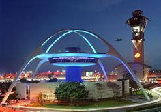 Terminal One, the Los Angeles International Airport